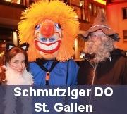 Schmutziger Donnerstag St. Gallen