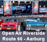 Open Air Riverside Route 66 Old Car Festival Aarburg 2017
